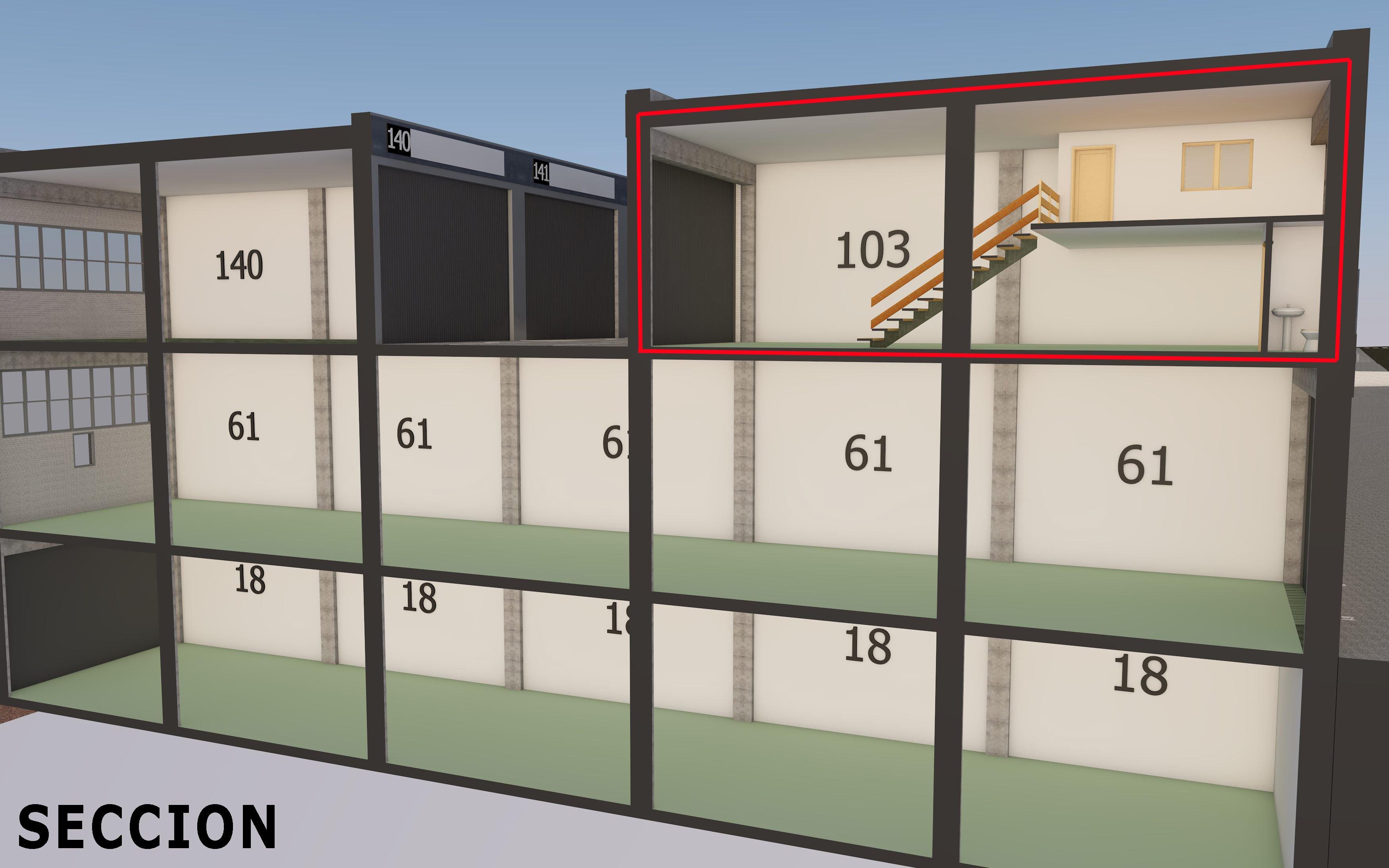 Sección edificio 103-61-18